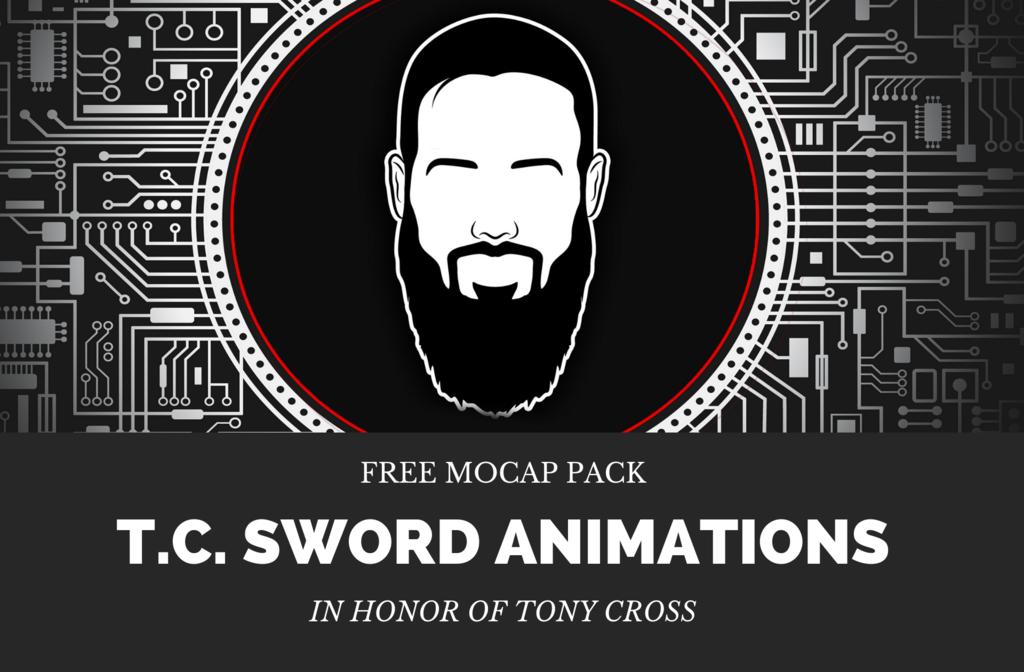 T.C. SWORD ANIMATION PACK FREE DEMO Blog Header